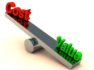 To know your customers you need to understand cost versus value to them.