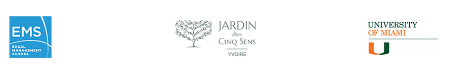 Jardin des Cinq Sens Logo