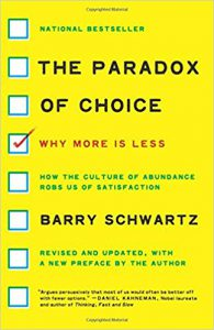 Paradox of choice in brand portfolio management