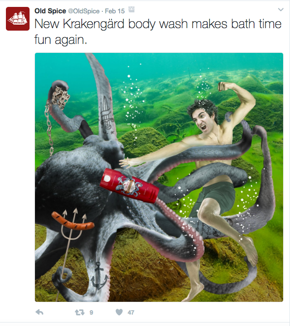 Old Spice on Twitter
