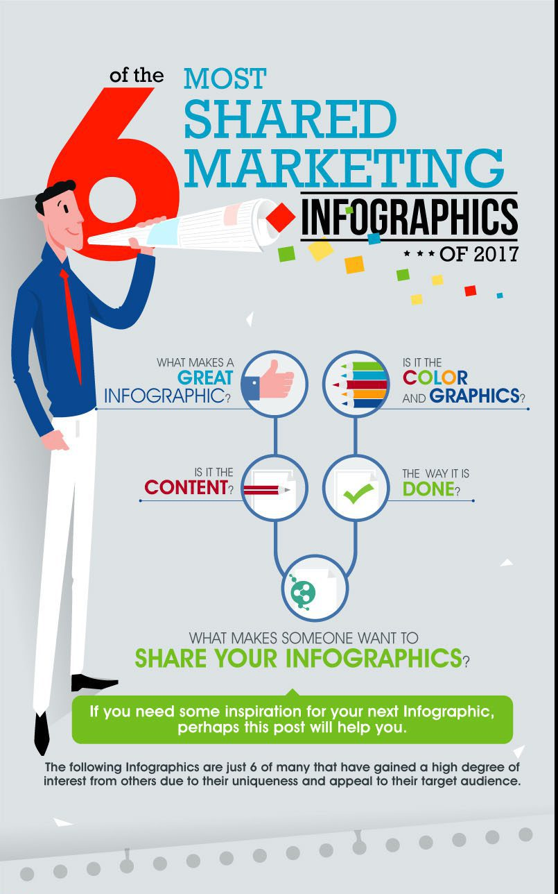 top 10 marketing infographics to smash 2018 (inspiration for the